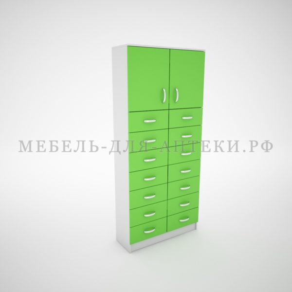 Шкафы для аптеки с ящиками