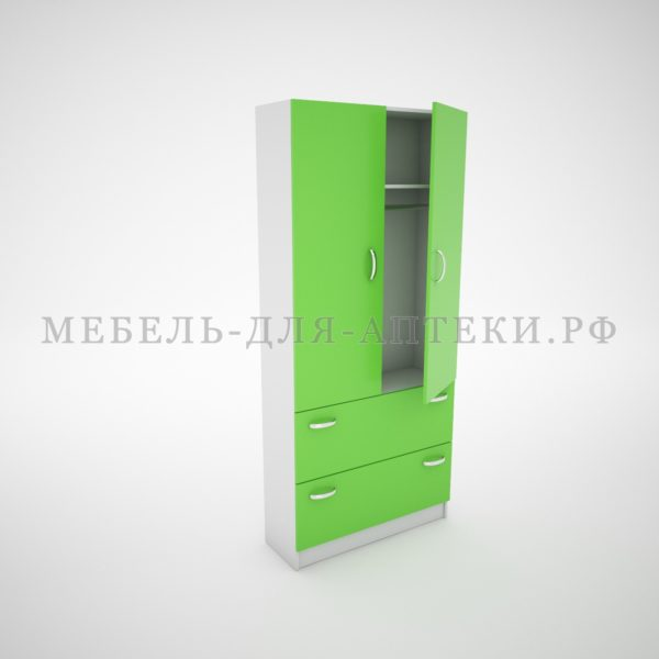 Шкафы для аптеки с дверками