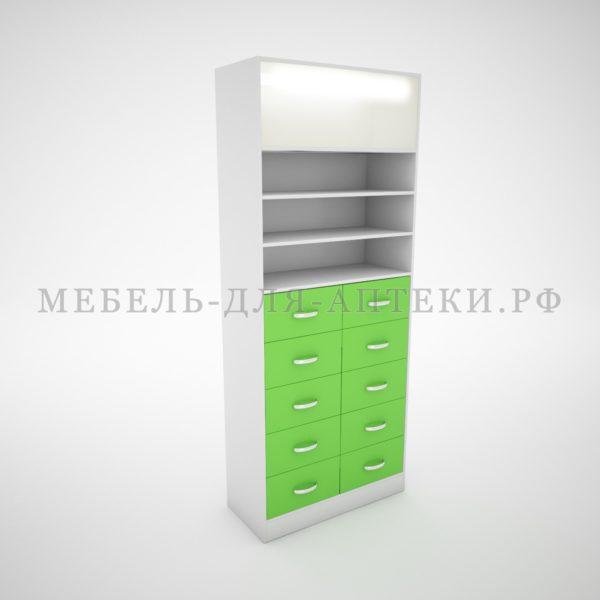 Шкафы для аптеки с лайтбоксами